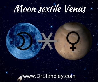 Moon sextile Venus on DrStandley.com