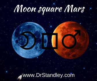 Moon square Mars on DrStandley.com