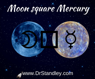 Moon square Mercury on DrStandley.com