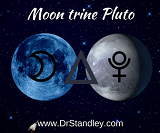 Moon trine Pluto on Wednesday, March 20, 2019 on DrStandley.com