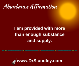 More than enough affirmation on DrStandley.com