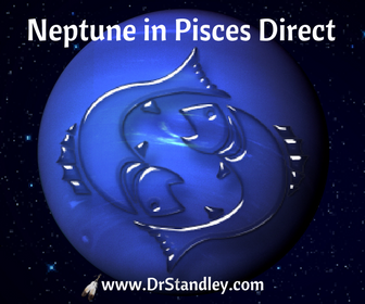 Neptune in Pisces Direct on Wed. November 22, 2017