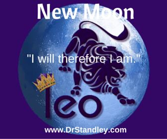 New Moon in Leo on DrStandley.com