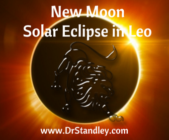 Solar Eclipse New Moon in Leo on August 21, 2017 on DrStandley.com
