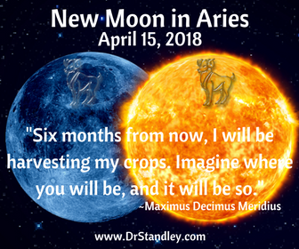 New Moon in Aries on DrStandley.com