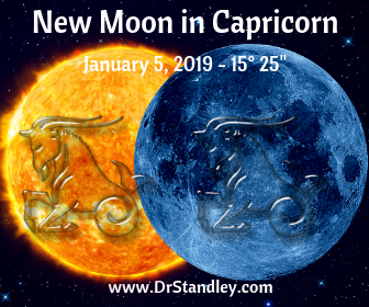 New Moon in Capricorn - Solar Eclipse on DrStandley.com
