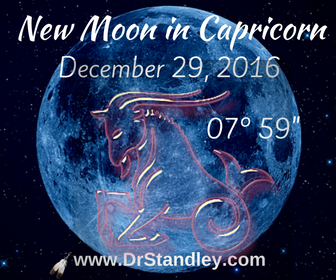 New Moon in Capricorn on DrStandley.com