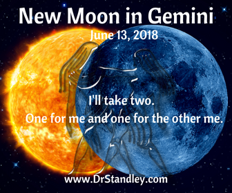 New Moon in Gemini on DrStandley.com