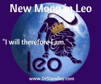 New Moon in Leo 2020 on DrStandley.com