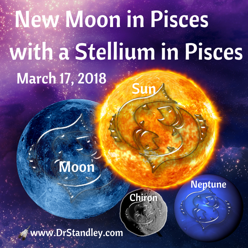 New Moon in Pisces - Leap of Faith - I believe therefore I