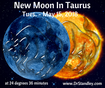 New Moon in Taurus on DrStandley.com