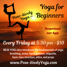 New Yogi Class at Pose-itively Yoga in Belleville, IL every Friday night
