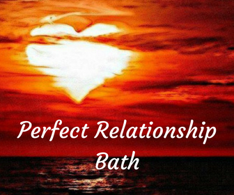 The intent of this bath is to prepare your heart, mind and spirit to couple up with your perfect relationship
