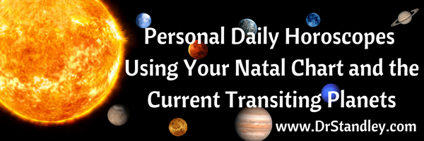 Personal Daily Horoscopes on DrStandley.com