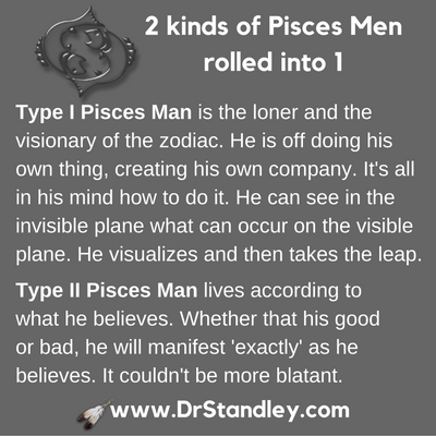 Pisces Man on DrStandley.com