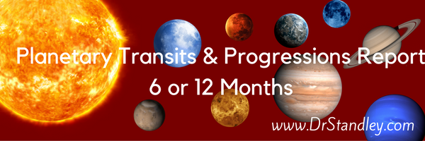 Planetary Transits and Progressions on DrStandley.com