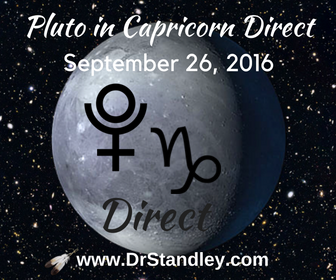 Pluto in Capricorn Direct on DrStandley.com