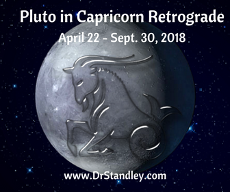 Pluto in Capricorn Retrograde on DrStandley.com