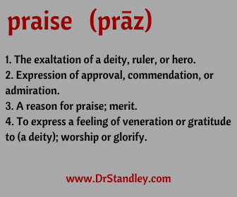 Today's word of the day on DrStandley.com