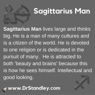 Sagittarius Man on DrStandley.com