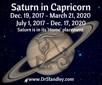 Saturn is the disciplinarian, the responsible one and the proud papa