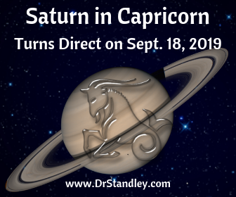 Saturn in Capricorn on DrStandley.com