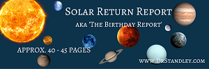 Solar Return Report