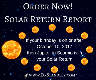 Get your Solar Return Report here!