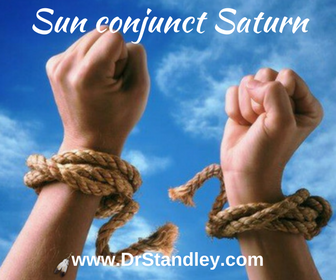 Sun conjunct Saturn on DrStandley.com