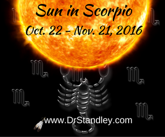 Sun in Scorpio on DrStandley.com