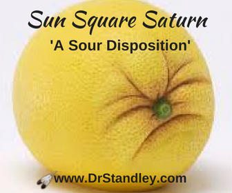 Sun Square Saturn on DrStandley.com