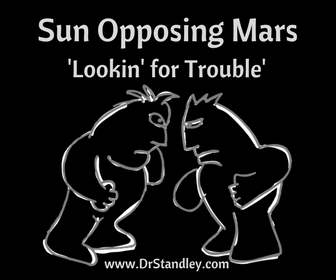 Sun Opposing Mars on DrStandley.com