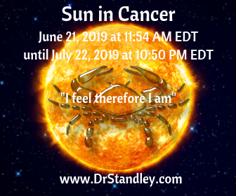 Sun in Cancer 2019 on DrStandley.com