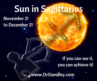Sun in Sagittarius - I perceive/see therefore I am