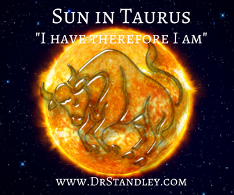 Sun in Taurus on DrStandley.com