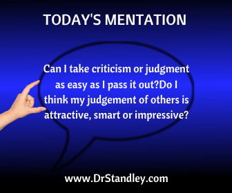 100's of spiritually motivated mentation questions on DrStandley.com