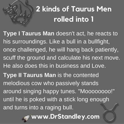 Taurus Man on DrStandley.com