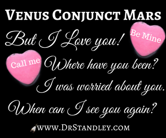 Venus Conjunct Mars on DrStandley.com