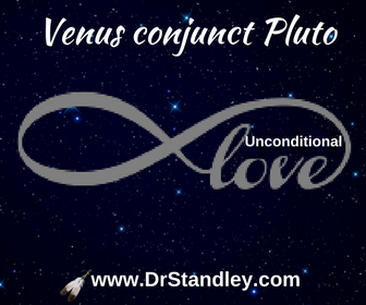 Venus conjunct Pluto on DrStandley.com