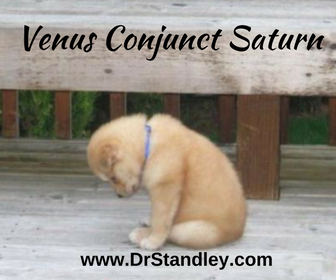 Venus Conjunct Saturn aspect on DrStandley.com