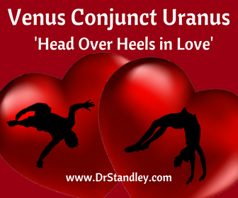 Venus Conjunct Uranus aspect on DrStandley.com