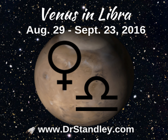 Venus in Libra on DrStandley.com
