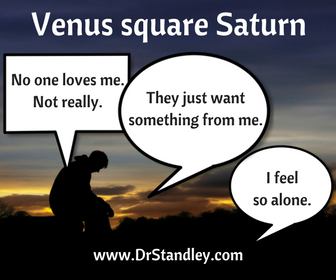 Venus Square Saturn on DrStandley.com