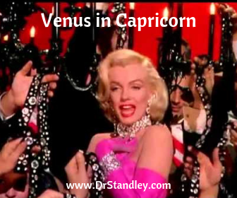 Venus in Capricorn from January 8, 2021 until February 1, 2021 on DrStandley.com