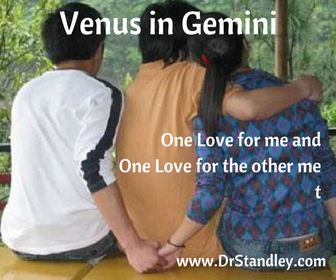 Venus in Gemini on DrStandley.com