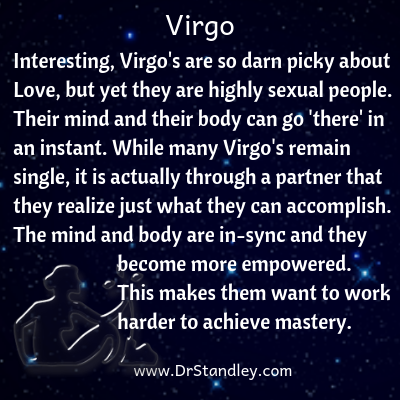 All about Virgo on DrStandley.com